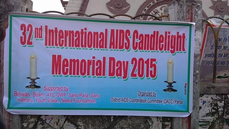 32nd International AIDS Candlelight Memorial Day 2015